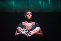 London, UK. 20.06.2014. Belarus Free Theatre present RED FOREST at the Young Vic theatre. Picture shows: Michal Keyamo. Photograph © Jane Hobson.