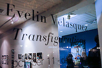 """Stamford, CT. 11 October 2014. HighLights of the the Opening of solo Exhibit """"Transfigurations"""" by the Colombian Artist Evelin Velasquez at the Fernando Luis Alvarez Gallery in Stamford . Photo by Eduardo Munoz/VIEWpress"""