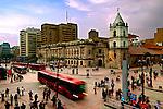 Colombia, Bogota, 16th century Iglesia de San Francisco, Bogota's Oldest Restored Church, Intersections of Avendia Jimenez and Carrera Septima, Gold Museum Stop For The Transmilenio Buses