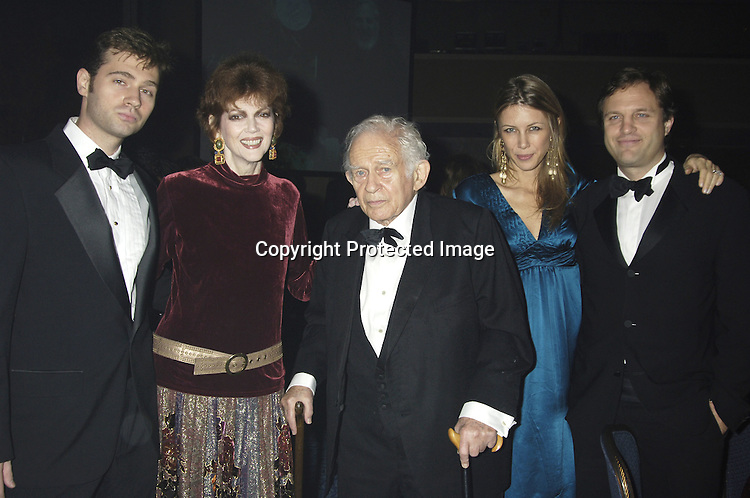 John, Norris, Norman Mailer, Sasha Lazare and husband Michael Mailer ..at The 2005 National Book Awards on November 16, 2005 at The Marriott Marquis Hotel. ..Photo by Robin Platzer, Twin Images