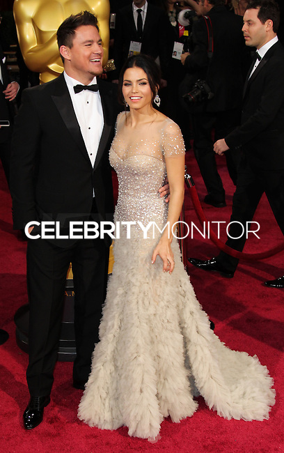 HOLLYWOOD, CA, USA - MARCH 02: Channing Tatum, Jenna Dewan-Tatum at the 86th Annual Academy Awards held at Dolby Theatre on March 2, 2014 in Hollywood, Los Angeles, California, United States. (Photo by Xavier Collin/Celebrity Monitor)