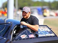 Mar 19, 2017; Gainesville , FL, USA; NHRA pro mod driver Steven Whiteley during the Gatornationals at Gainesville Raceway. Mandatory Credit: Mark J. Rebilas-USA TODAY Sports