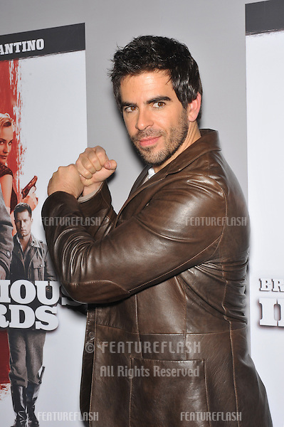 """Eli Roth at the DVD launch of his movie """"Inglourious Basterds"""" at the New Beverly Cinema, Los Angeles..December 14, 2009  Los Angeles, CA.Picture: Paul Smith / Featureflash"""