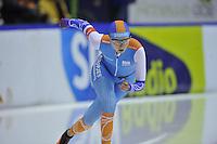 SCHAATSEN: HEERENVEEN: IJsstadion Thialf, 29-12-2015, KPN NK Afstanden, 5000m Dames, Lisa van der Geest, ©foto Martin de Jong