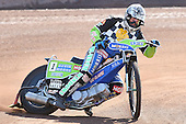 Barrie Evans of Hackney Hawks in riding action - Hackney Hawks Speedway Press &amp; Practice Day at Arena Essex Raceway, Purfleet, Essex - 23/03/11 - MANDATORY CREDIT: Gavin Ellis/TGSPHOTO - Self billing applies where appropriate - Tel: 0845 094 6026