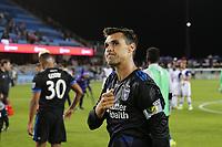San Jose, CA - Wednesday May 17, 2017: Chris Wondolowski during a Major League Soccer (MLS) match between the San Jose Earthquakes and Orlando City SC at Avaya Stadium.