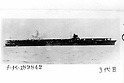 Shoukaku class aircraft carrier, undated.