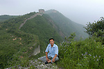 Mr Zhang Heshan lives near the Great Wall on the border between Hebei and Liaoning. He has been protecting the wall for 28 years. To do so he gets up every morning at 4am to inspect the wall and walks for up to 10 hours on some days. For that job he gets a 500 RMB allowance a year from the state.