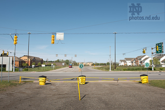 Apr. 27, 2012; Intersection of the Indiana Toll Road and State Road 933...Photo by Matt Cashore/University of Notre Dame