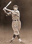 Pittsburgh PA:  Paul Waner led the National League in batting three times and accumulated over 3,000. He collected 200 or more hits on eight occasions, was voted the NL's Most Valuable Player in 1927, and compiled a lifetime batting average of .333. He is tied with Chipper Jones with the Major League record for consecutive games with an extra-base hit, with 14 - 1928