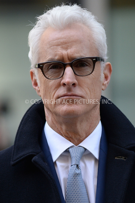 WWW.ACEPIXS.COM<br /> March 23, 2015 New York City<br /> <br /> John Slattery attending the 'Mad Men' art installation Unveiling at Time &amp; Life Building on March 23, 2015 in New York City. <br /> <br /> Please byline: Kristin Callahan/AcePictures<br /> <br /> ACEPIXS.COM<br /> <br /> Tel: (646) 769 0430<br /> e-mail: info@acepixs.com<br /> web: http://www.acepixs.com