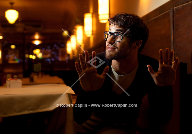 Actor Darren Criss will be starring for three weeks in &quot;How To Succeed in Business Without Really Trying&quot; on Broadway. ..Photo by Robert Caplin.