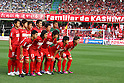 Kashima Antlers team group line-up, MAY 15th, 2011 - Football : Kashima Antlers team group shot (Top row - L to R) Takeshi Aoki, Yuya Osako, Masahiko Inoha, Daiki Iwamasa, Takuya Nozawa, Hitoshi Sogahata, (Bottom row - L to R) Mitsuo Ogasawara, Shinzo Koroki, Toru Araiba, Yasushi Endo and Daigo Nishi before the 2011 J.League Division 1 match between Kawasaki Frontale 3-2 Kashima Antlers at Todoroki Stadium in Kanagawa, Japan. (Photo by Kenzaburo Matsuoka/AFLO).