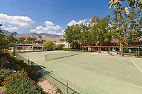 Older tennis courts