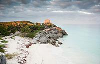 The Mayan Ruins of Tulum, Quintana Roo, Yucatan, Mexico
