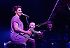 An Evening with... Amanda Palmer and her father Jack Palmer and guests including Neil Gaiman performing live at KOKO, Camden Town, London, Great Britain <br /> 3rd June 2016<br /> <br /> Amanda Palmer with baby Ash<br /> <br /> <br /> Photograph by Elliott Franks <br /> Image licensed to Elliott Franks Photography Services
