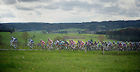 Liege-Bastogne-Liege 2012.98th edition..peloton up the Cote de Wanne