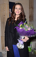 NOV 16 Hayley Atwell departs theatre