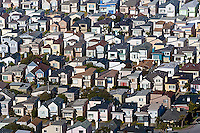 aerial photograph Daly City South San Francisco, San Mateo county, California