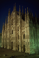 Facade of The Duomo, Milan