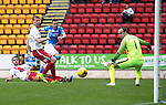 St Johnstone v Kilmarnock&hellip;15.10.16.. McDiarmid Park   SPFL<br />Steven MacLean scores only to see his goal ruled offside<br />Picture by Graeme Hart.<br />Copyright Perthshire Picture Agency<br />Tel: 01738 623350  Mobile: 07990 594431