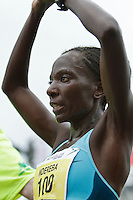 Falmouth Road Race, Catherine Ndereba after finishing