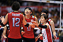 Erika Araki (JPN), .MAY 23, 2012 - Volleyball : FIVB the Women's World Olympic Qualification Tournament for the London Olympics 2012, between Japan 1-3 Korea at Tokyo Metropolitan Gymnasium, Tokyo, Japan. (Photo by Jun Tsukida/AFLO SPORT) [0003].
