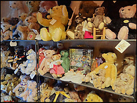 BNPS.co.uk (01202 558833)<br /> Pic: SAS/BNPS<br /> <br /> The room where Yvonne Crompton kept her bears.<br /> <br /> One woman's epic collection of more than 600 teddy bears is expected to fetch &pound;40,000 when it goes under the hammer.<br /> <br /> The late Yvonne Crompton amassed 635 bears, as well as teddy ornaments and pictures, over 50 years of collecting and had many limited edition models.<br /> <br /> Her vast collection filled a whole room from floor-to-ceiling at her five-bedroom family home in Wimbledon, south west London.<br /> <br /> Mrs Crompton spent decades scouring car boot sales, antique fairs and specialist exhibitions for her bears, which her husband Rufus would also often buy her as presents.