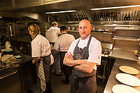 Mark Osborne, chef and co-licencee of The Railway, Lowdham, Nottingham