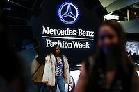 People attend the New York Fashion Week 2015 in New York. 15.12.2015. Eduardo Munoz Alvarez/VIEWpress.