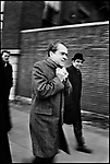 President-elect Richard Nixon on 5th Avenue. New York, New York, December 1968