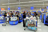 MIRAMAR, FL - OCTOBER 06: Consumer shopping at Walmart in Miramar, Florida in preparation for the landfall of Hurricane Matthew on October 6, 2016 in Miramar, Florida. The hurricane is expected to make landfall sometime this evening or early in the morning as a possible category 4 storm.Credit: MPI10 / MediaPunch