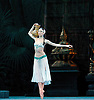 La Bayad&egrave;re<br /> The Mariinsky Ballet <br /> at The Royal Opera House, London, Great Britain <br /> rehearsal <br /> 11th August 2011 <br /> Presented by Victor Hochhauser<br /> Music by Ludwig Minkus <br /> Choreography by Marius Petipa <br /> <br /> Viktoria Tereshkina (as Nikiya, a bayadere)<br /> <br /> <br /> Photograph by Elliott Franks