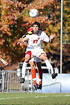 10 November 2010: Maryland's John Stertzer. The University of Maryland Terrapins defeated the Clemson University Tigers 2-1 at Koka Booth Stadium at WakeMed Soccer Park in Cary, North Carolina in an ACC Men's Soccer Tournament Quarterfinal game.