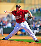 2 March 2009: Houston Astros' pitcher Chad Paronto on the mound during a Spring Training game against the New York Yankees at Osceola County Stadium in Kissimmee, Florida. The teams played to a 5-5, 9-inning tie. Mandatory Photo Credit: Ed Wolfstein Photo
