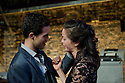 "London, UK. 03/11/2011. ""The Changeling"" opens at the Southwark Playhouse. Picture shows Rob Heaps as Alsemero and Fiona Hampton as Beatrice-Joanna. Photo by: Jane Hobson"