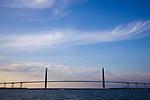 Charleston South Carolina Arthur Ravenel Jr Bridge over the Cooper River