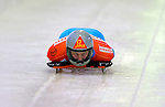 17 December 2010: Anze Setina sliding for Slovenia, finishes in 17th place at the Viessmann FIBT Skeleton World Cup Championships in Lake Placid, New York, USA. Mandatory Credit: Ed Wolfstein Photo
