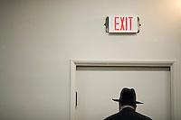 Rabbiner Summers leder Mitzvah i Anshe Emes Synagoge. Los Angeles. 16.12.10.