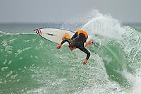 Saturday July 10, 2010. Damien Hobgood (USA) Free surfing at Supertubes, Jeffreys Bay, Eastern Cape, South Africa.  Photo: joliphotos.com