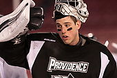 Hayden Hawkey (PC - 31) - The Providence College Friars practiced at Fenway on Friday, January 6, 2017, in Boston, Massachusetts.