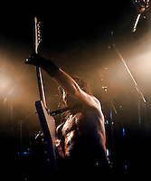 Airbourne performing at The Corner Hotel, Melbourne, 18 May 2007