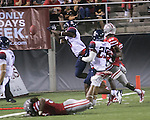 LAS VEGAS, NV - SEPTEMBER 07: Arizona Wildcats vs the UNLV Rebels at Sam Boyd Stadium  in Las Vegas, Nevada. Arizona won 58-13