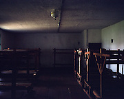 The interior of the prisoner barracks. (Remodeled.) <br />