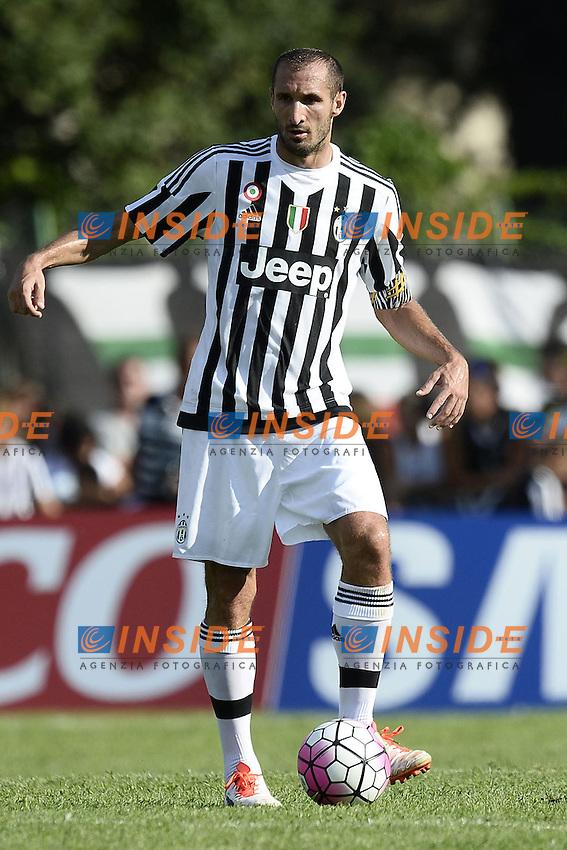 Villar Perosa (To) 19-08-2015 - amichevole / Juventus A-Juventus B / foto Daniele Buffa/Image Sport/Insidefoto<br /> nella foto: Giorgio Chiellini