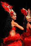 Danseurs polynesiens