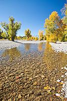 Autumn in Grand Teton National Park Wyoming