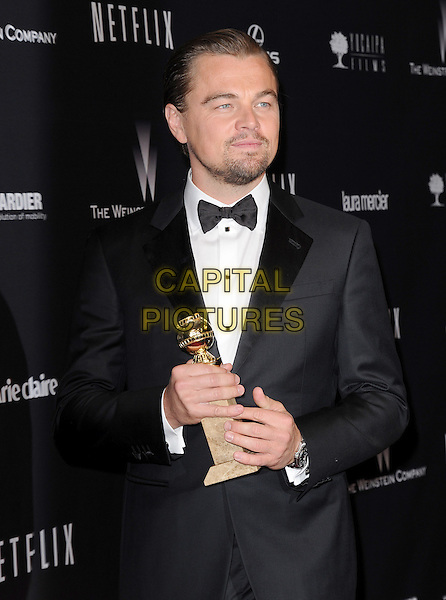 Leonardo DiCaprio attends THE WEINSTEIN COMPANY &amp; NETFLIX 2014 GOLDEN GLOBES AFTER-PARTY held at The Beverly Hilton Hotel in Beverly Hills, California on January 12,2014                                                                               <br /> CAP/DVS<br /> &copy;DVS/Capital Pictures