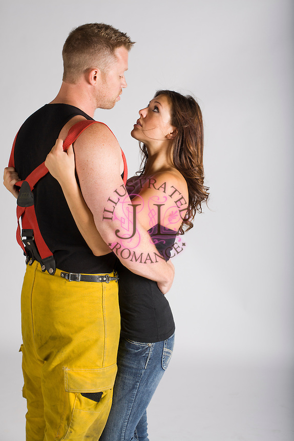 FIREMAN themed STOCK photographs for romance novel book covers by Jenn LeBlanc for Studio Smexy and Illustrated Romance.