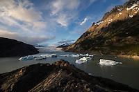 Lago Grey and Glacier Grey, Torres del Paine, Patagonia, Chile